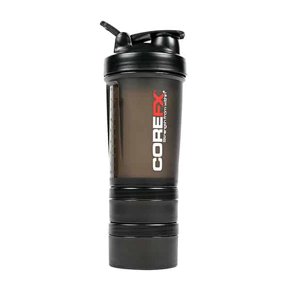 shaker cup with compartments