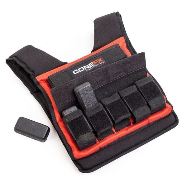 Adjustable 40lb weighted vest