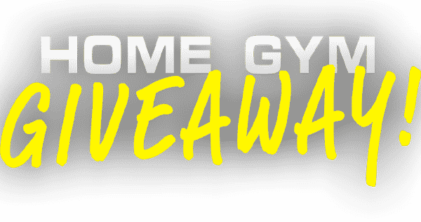 Home Gym Giveaway Logo